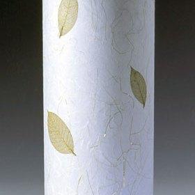 Elaine Yoneoka, Raku leaf lamp