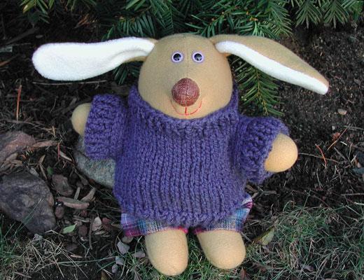 Linda Bryant, Soft Sculpture, May Rabbit