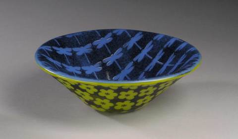 Lora Kudisch Glass Bowl