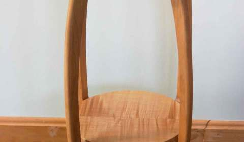Alan Bourgault Stool