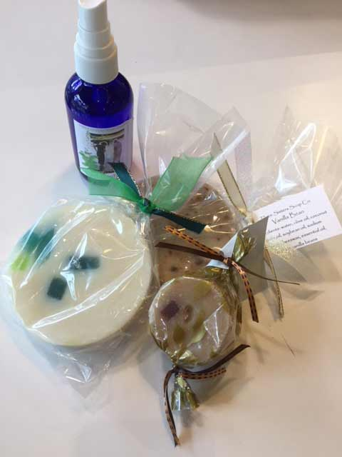 Helen McMullen hand crafted soaps