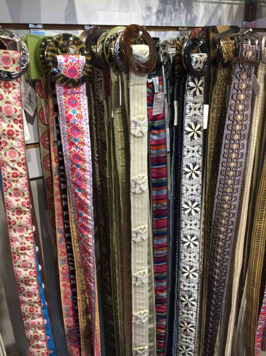 Jan Hurd Reversible Belts