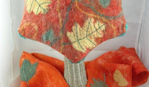 Tornheim Susan Leaf Star Hat and Scarf