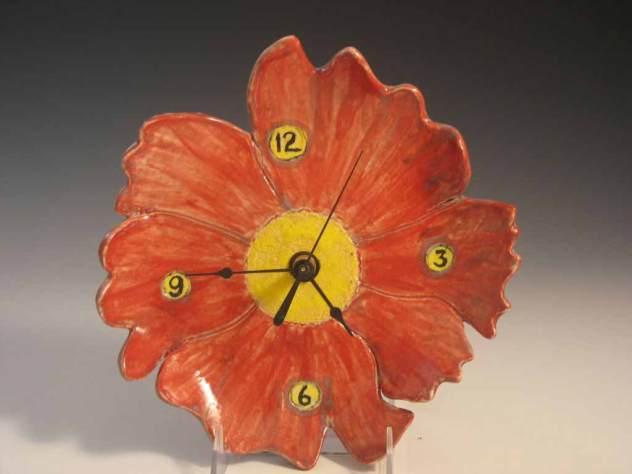 Judy Kanigel, Ceramic Clock