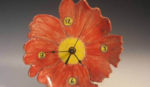 Judy Kanigel, Ceramic Clock