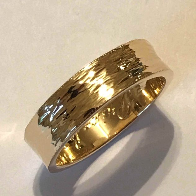 Thierry Astesano, Forged Wedding Band, scaled