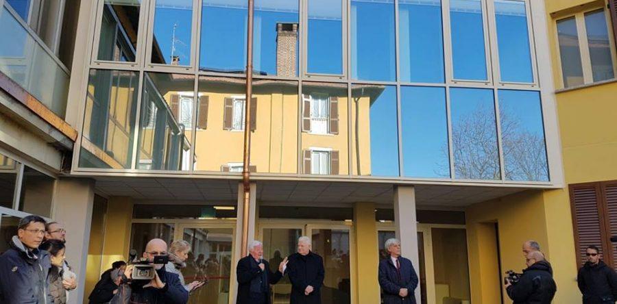 Inaugurazione Casa Nuovi Orizzonti di Cantello  Signorelli Cesare Snc