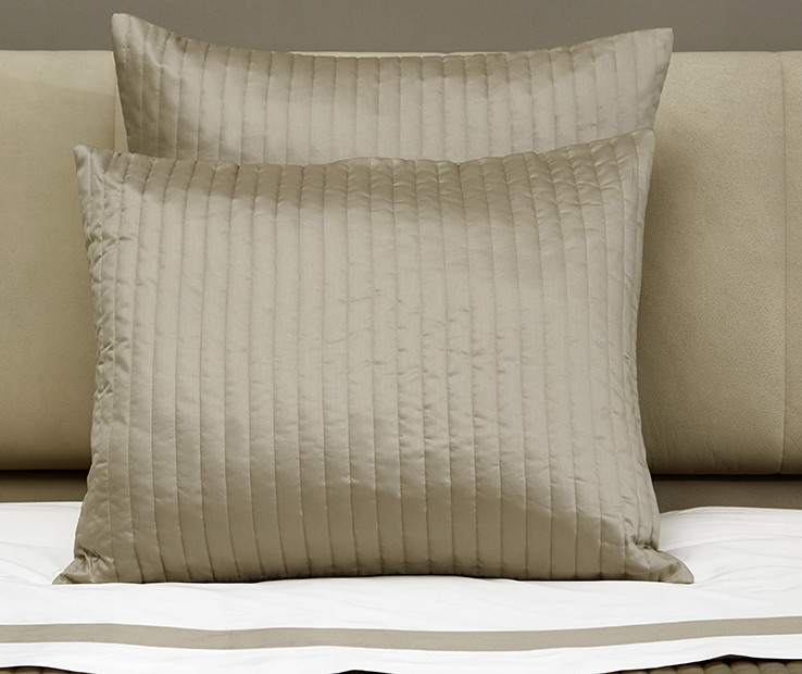 siena quilted decorative pillow