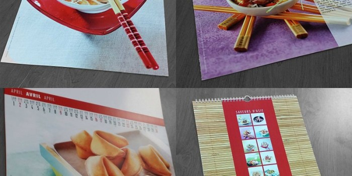 calendriers personnalisable