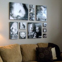 Canvas Prints For Living Room Modern Black Leather Sofa How To Design Your Wall Gallery Signs Com Blog Above Couch 1