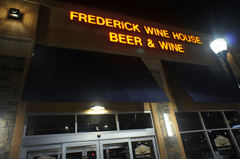 Frederick Wine House Channel Letter