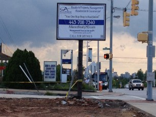 Alliance Realty pylon sign