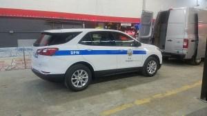 DPW vehicle lettering
