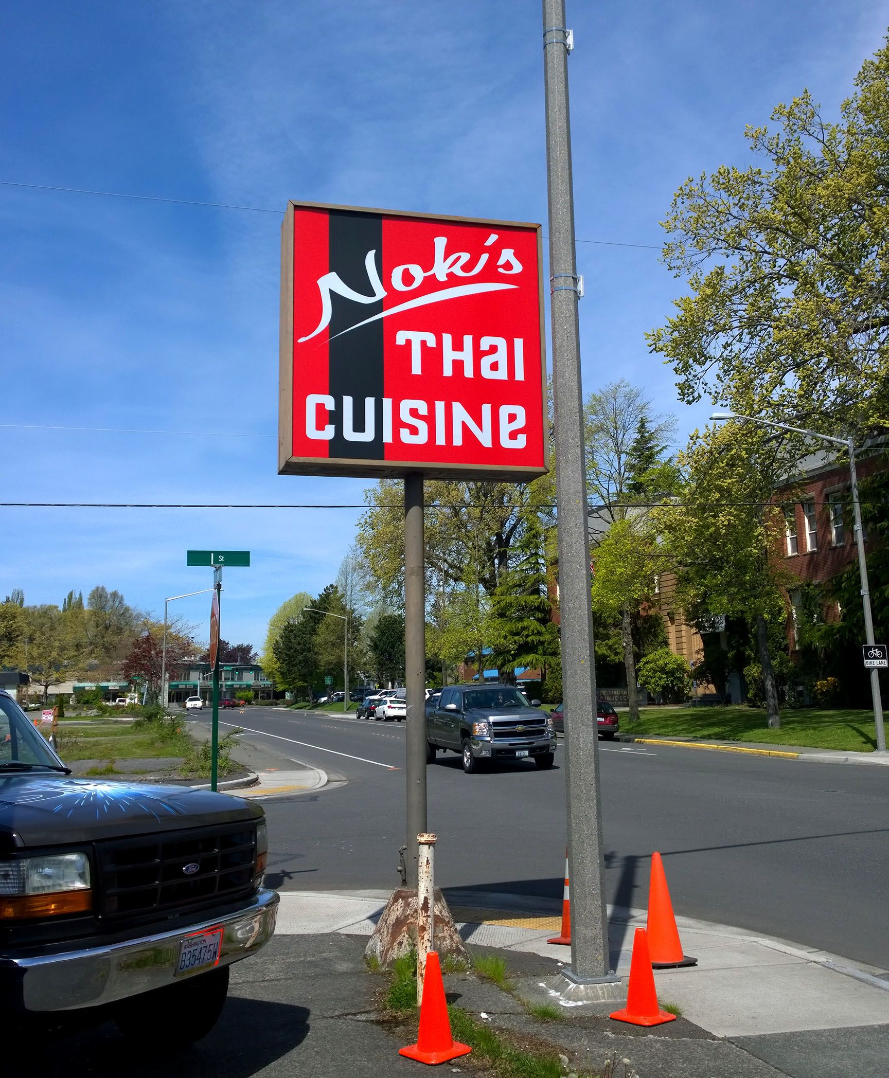 Outdoor Lightbox Signs Restaurant Retail Government