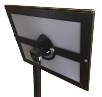 8.5x11 Snap Frame Pedestal-Base Sign Holder