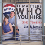 Perforated Window Graphic – For Fort Myers Remax Office
