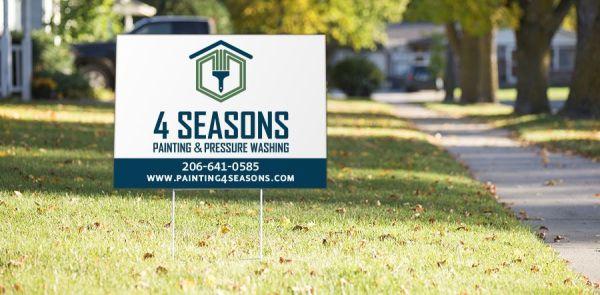 yard & lawn signs seattle