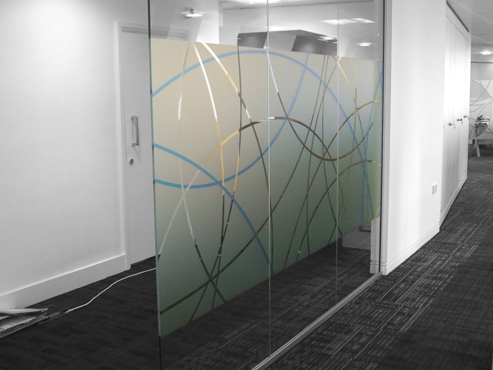 Glass Manifestation Frosted Window Film Manchester