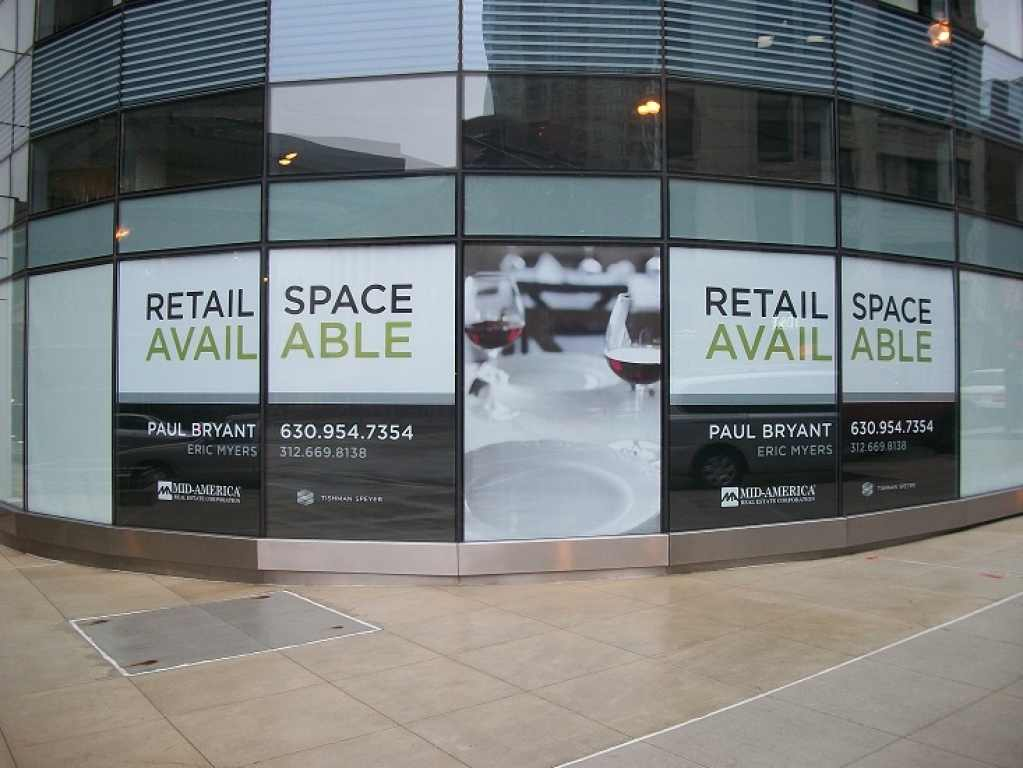 window signs Sandy Springs, window signs Brookhaven
