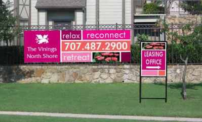 Business banners sandy springs