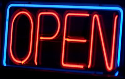 Open signs Johns Creek