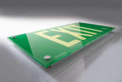 Acrylic-Photoluminescent-Exit-Sign-EXIT-600035