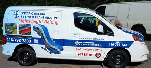 small van advertising wrap