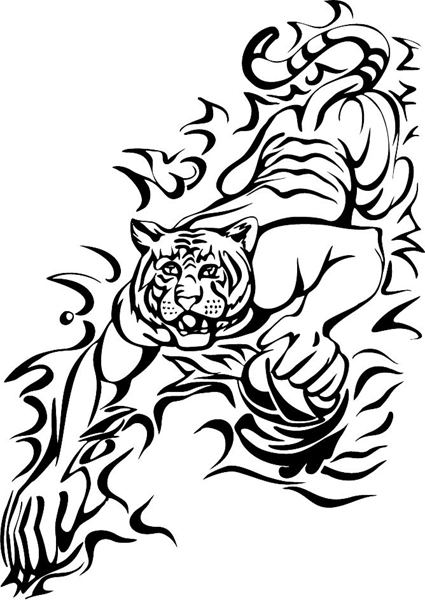 Lsu Tigers Football Coloring Pages Coloring Pages