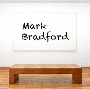 Künstlerbiographie Mark Bradford
