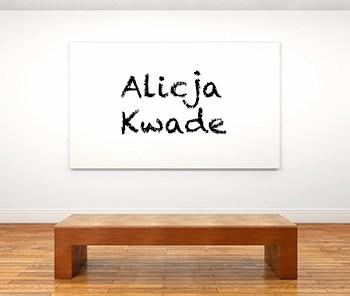 Künstlerbiographie alicja kwade icon