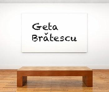 Künstlerbiographie geta brǎtescu icon