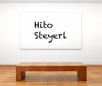 Künstlerbiographie hito steyerl icon