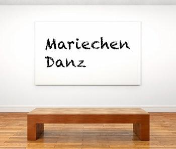 Künstlerbiographie Mariechen Danz icon