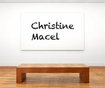 Künstlerbiographie Christine Macel icon