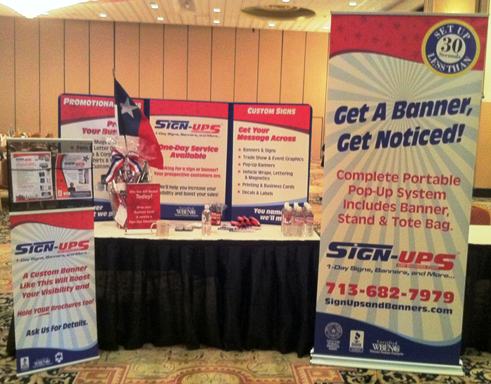 Trade Show Displays, Pop-Up Banners, Table Top Displays
