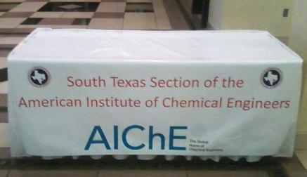 AlChE Tabel Banner from Sign-Ups for an event