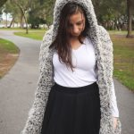 Faux Fur Hooded Scarf With Pockets Free Crochet Pattern Sigoni Macaroni