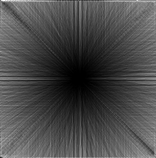 résultat de la méthode DEMON de calcul de l'écoulement