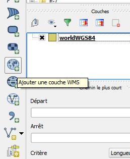 QGis ajouter une couche wms