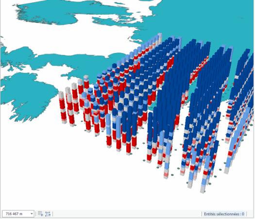 résultat de l'afficahge 3D de l'analyse des points chauds