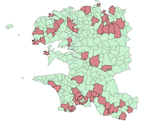 communes avec populatiion comprise entre 2500 et 5000 habitants