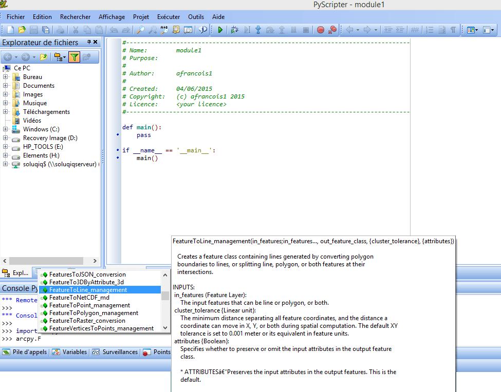 Arcgis Et Python Avant De Faire Vos Premiers Pas Blog Sig