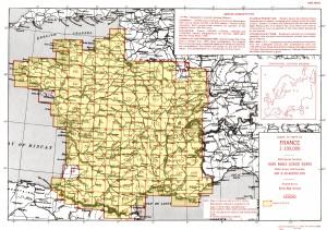 catalogue des cartes topographiques 1946 au 1/100000