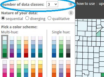 choix du nombre de classes