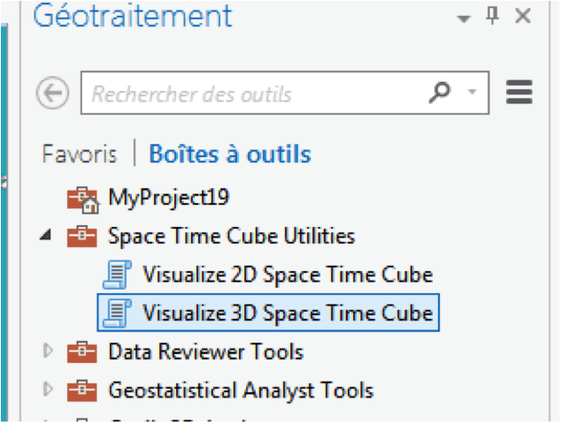 The spatial-temporal cube of ArcGis : 1- discovery | Blog
