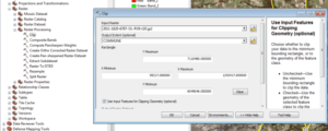 Clipping of rasters with ArcGIS How to clip the rasters with
