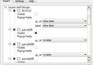 How to export your QGis project to an html page in two