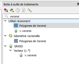How to calculate local averages in the Voronoï polygons with Qgis
