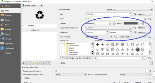 How to edit a svg symbol (colour, stroke) in QGis | Blog GIS