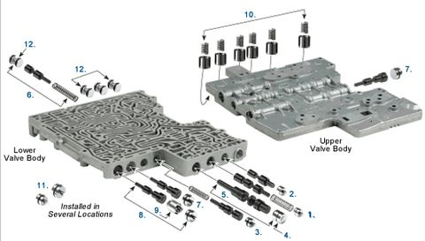 4l60e Transmission Exploded View. Wiring. Wiring Diagram